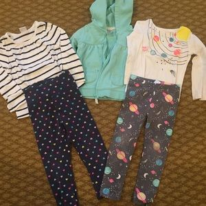Fall 2T Carter's and Gymboree bundle